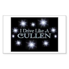 I drive like a Cullen sticker