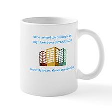 RestoredBuilding Mugs