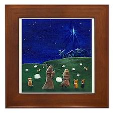 O Holy Night Framed Tile