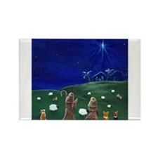 O Holy Night Rectangle Magnet