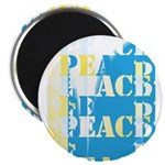 Words of PEACE Magnet