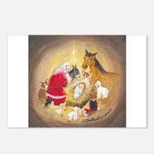 Away in a Manger Postcards (Package of 8)