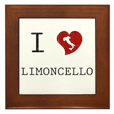 I Love Limoncello Framed Tile