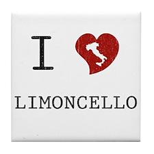 I Love Limoncello Tile Coaster