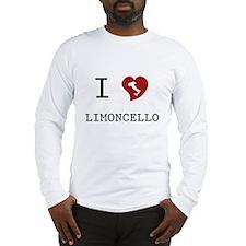 I Love Limoncello Long Sleeve T-Shirt