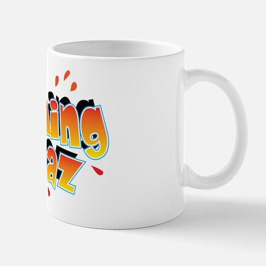 Flaming Spaz Mug