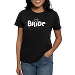 Heart Bride Women's Dark T-Shirt