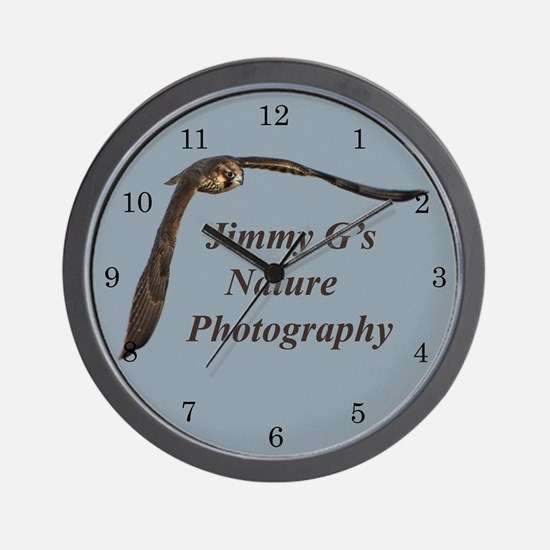 Jimmy G's Nature Photography Wall Clock