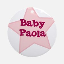Baby Paola Ornament (Round)