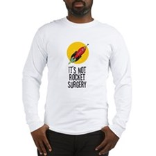 rocket surgery stack white Long Sleeve T-Shirt