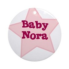 Baby Nora Ornament (Round)