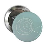 "Blue Rose Eye 2.25"" Button (10 pack)"