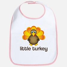 Cute Little Turkey Bib