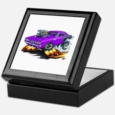 1971-72 Hemi Cuda Purple Car Keepsake Box