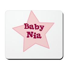 Baby Nia Mousepad