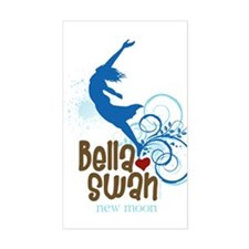 Bella Cliff Diving Rectangle Decal