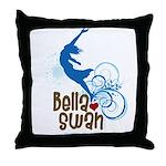 Bella Cliff Diving Throw Pillow