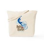Bella Cliff Diving Tote Bag