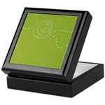Green Rose Eye Keepsake Box