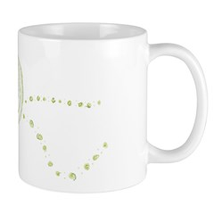 Green Rose Eye Mug