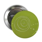 "Green Rose Eye 2.25"" Button (10 pack)"