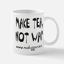 Cute Make tea not war Mug