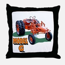 Chalmers grandpa agriculture Throw Pillow