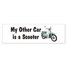 Just Gotta Scoot Symba Bumper Bumper Sticker