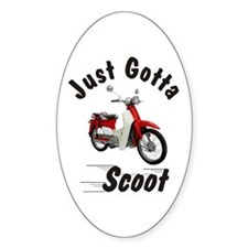Just Gotta Scoot Symba Oval Decal