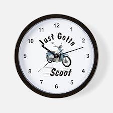 Just Gotta Scoot Symba Wall Clock