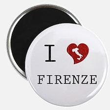 I Love Firenze Magnet