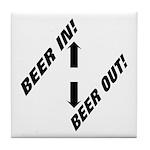 Beer Tile Coaster