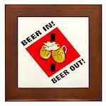 Beer Framed Tile