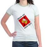 Beer Jr. Ringer T-Shirt