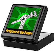 Progress Is The Enemy Keepsake Box