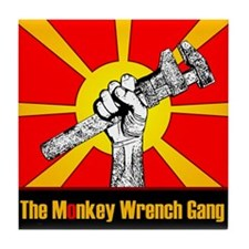 The Monkey Wrench Gang Tile Coaster