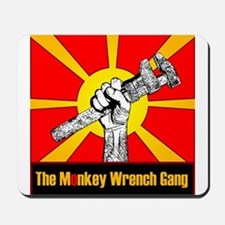 The Monkey Wrench Gang Mousepad