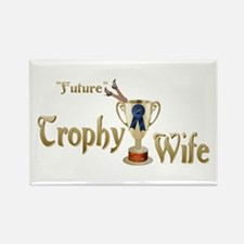 Future Trophy Wife Rectangle Magnet