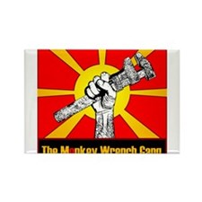 The Monkey Wrench Gang Rectangle Magnet