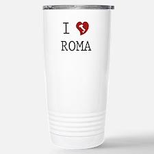 I Love Roma Stainless Steel Travel Mug