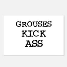 Grouses Kick Ass Postcards (Package of 8)