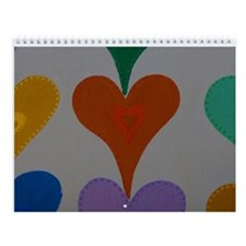 Touching Hearts Christmas Wall Calendar