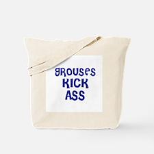 Grouses Kick Ass Tote Bag