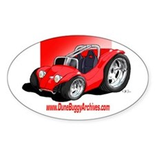 Dune Buggy Archives Oval Bumper Stickers