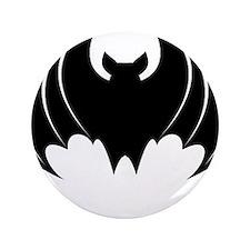 """BAT (12) 3.5"""" Button (100 pack)"""