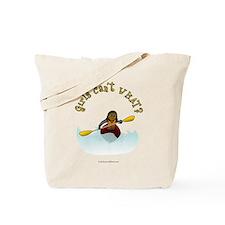 Dark Kayaking Tote Bag