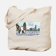 Wicked Pissah Boston Terrier Tote Bag
