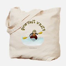 Blonde Kayaking Tote Bag