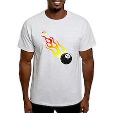 Billiards On Fire! T-Shirt