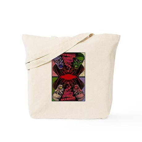 Vintage Zombie Tote Bag
